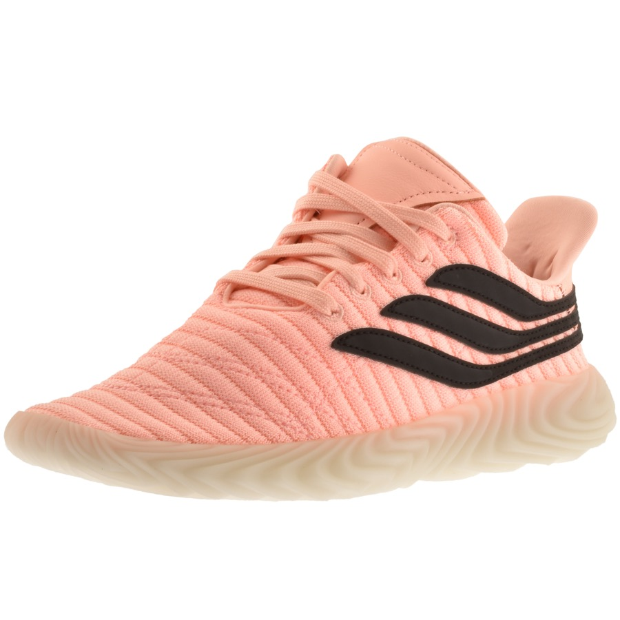 pink Adidas Sobakov Trainers