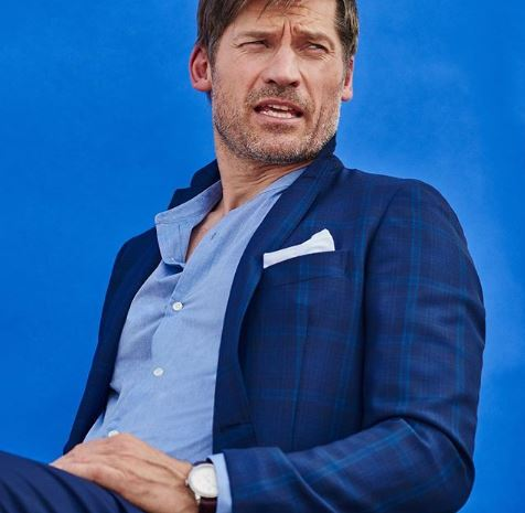 Jamie Lannister in a suit