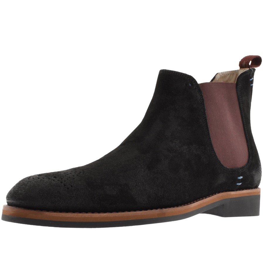 Sweeney London Burrows Chelsea Boots Black