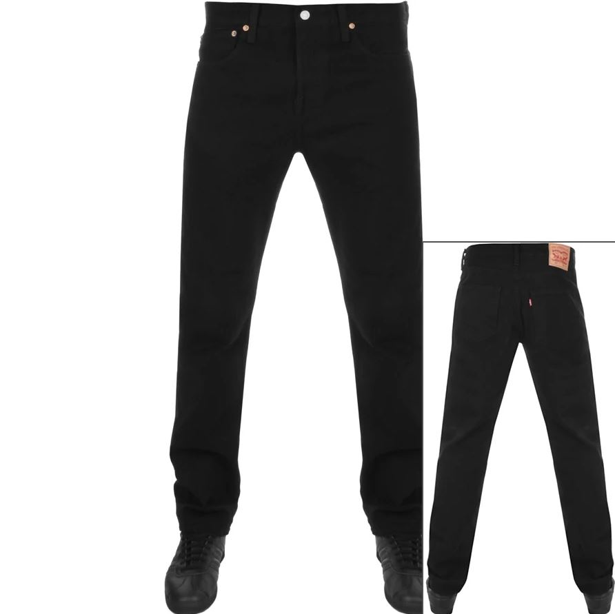 Levis 501 Original Fit Jeans Black
