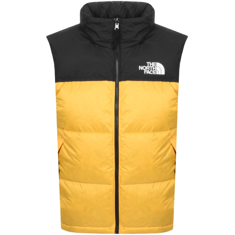 The North Face 1996 Retro Nuptse Down Gilet In TNF Yellow,