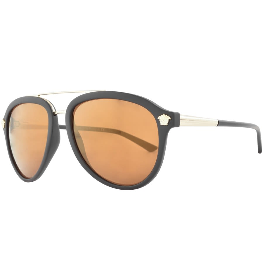 Versace Medusa Luxe Sunglasses Brown